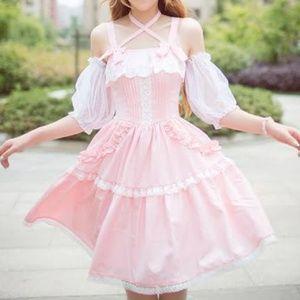 Dresses & Skirts - Super cute lolita summer dress